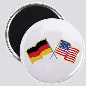 German American Flags Magnets