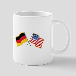 German American Flags Mugs