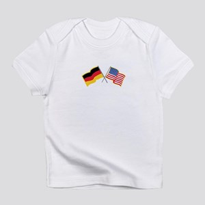 German American Flags Infant T-Shirt