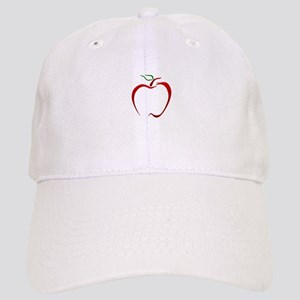 Apple Outline Baseball Cap