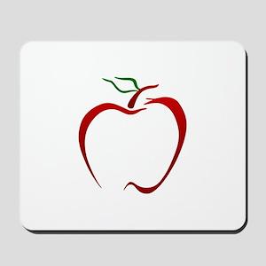 Apple Outline Mousepad