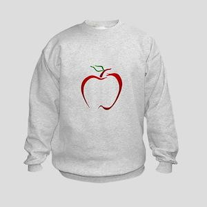 Apple Outline Sweatshirt