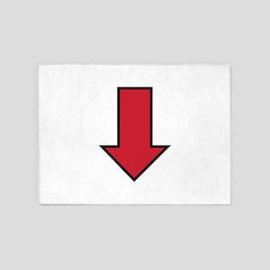 Red Arrow 5'x7'Area Rug