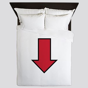 Red Arrow Queen Duvet