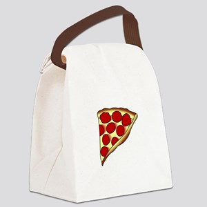 Pizza Slice Canvas Lunch Bag