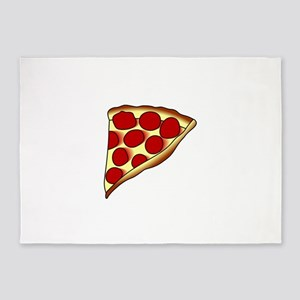 Pizza Slice 5'x7'Area Rug