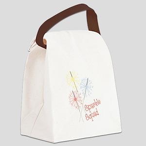 Sparkle Squad Canvas Lunch Bag