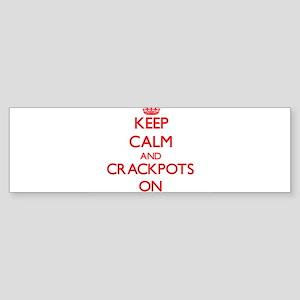 Crackpots Bumper Sticker