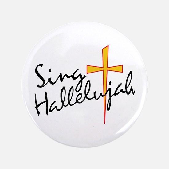 Sing Hallelujah Button