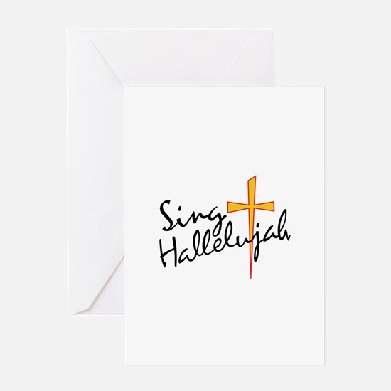 Sing Hallelujah Greeting Cards