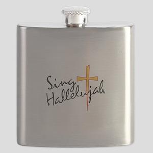 Sing Hallelujah Flask