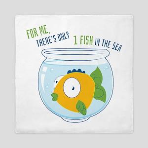 1 Fish Queen Duvet