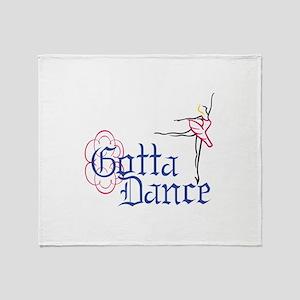 Gotta Dance Throw Blanket