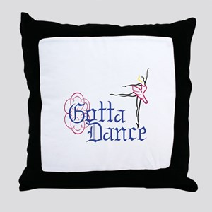 Gotta Dance Throw Pillow