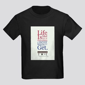 Forrest Gump Box Of Choclates Movie Typogr T-Shirt
