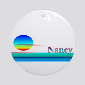 Nancy Ornament (Round)