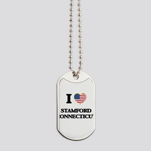 I love Stamford Connecticut Dog Tags