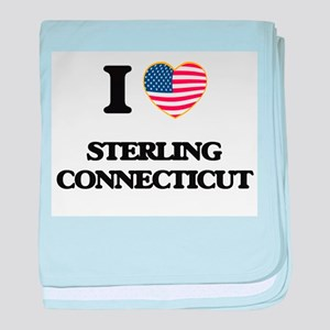 I love Sterling Connecticut baby blanket