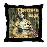 Tigerman Throw Pillow