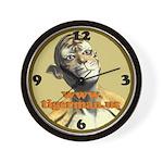 Tigerman Wall Clock