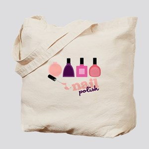 Nail Polish Tote Bag