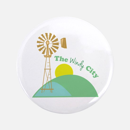 The Windy City Button
