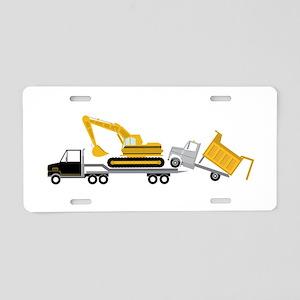 Transport Aluminum License Plate