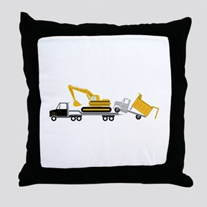 Transport Throw Pillow