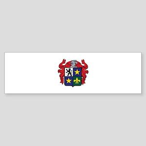 Medieval Crest Bumper Sticker