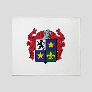 Medieval Crest Throw Blanket