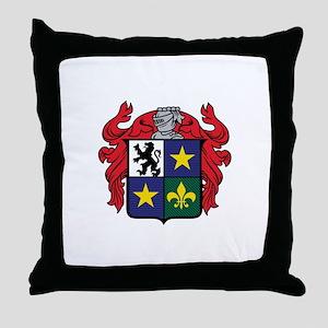 Medieval Crest Throw Pillow