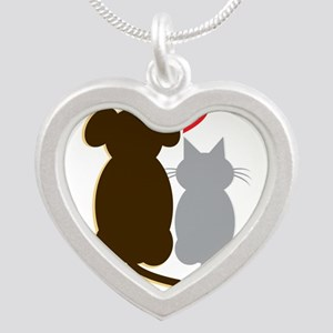 Dog Heart Cat Necklaces
