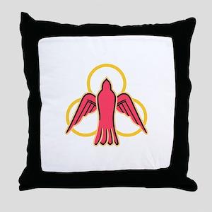 Trinity Dove Throw Pillow