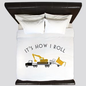 It's How I Roll King Duvet