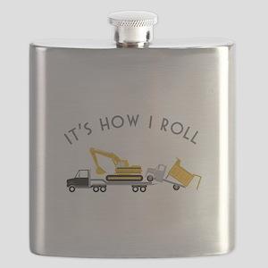 It's How I Roll Flask