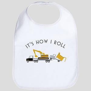 It's How I Roll Bib