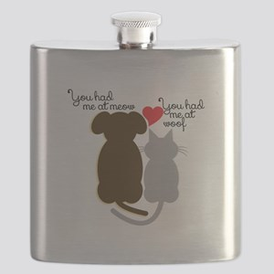 Meow Wolf Flask