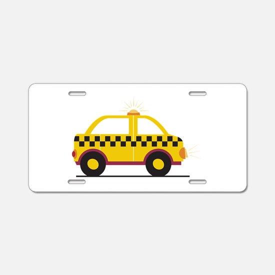 Taxi Aluminum License Plate