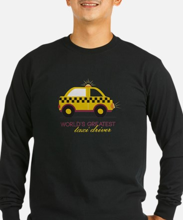 Taxi Driver Long Sleeve T-Shirt