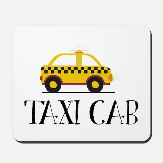 Taxi Cab Mousepad
