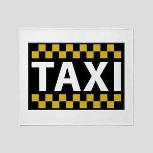 Taxi Throw Blanket