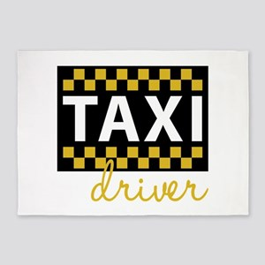 Taxi Driver 5'x7'Area Rug