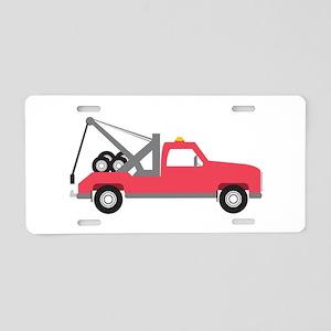 Tow Truck Aluminum License Plate