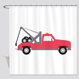 Tow Truck Shower Curtain