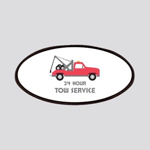 24 Hour Tow Service Patch
