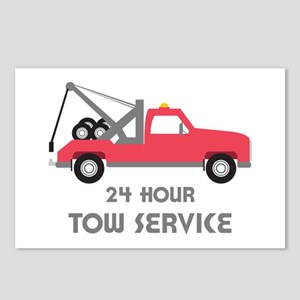 24 Hour Tow Service Postcards (Package of 8)