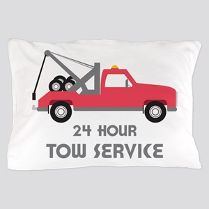 24 Hour Tow Service Pillow Case