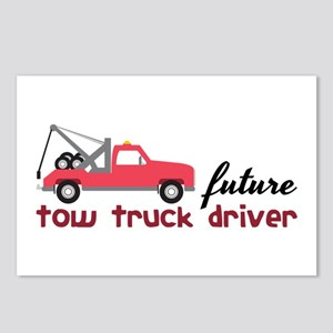 Future Tow Truck Dreiver Postcards (Package of 8)