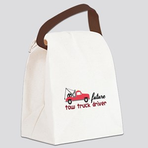 Future Tow Truck Dreiver Canvas Lunch Bag