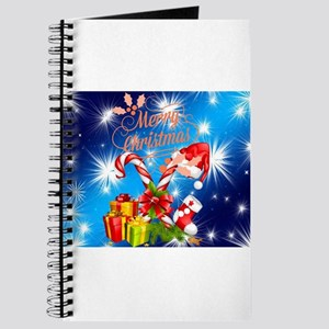 MERRY CHRISTMAS, gifts, candy cane Journal